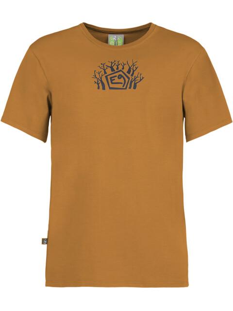 E9 Forest T-Shirt Men Mustard
